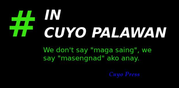 InCuyoPalawanMasengnad